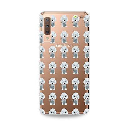 Capa para Galaxy A7 2018 - Poodle