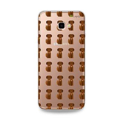 Capa para Galaxy J4 Plus - Golden