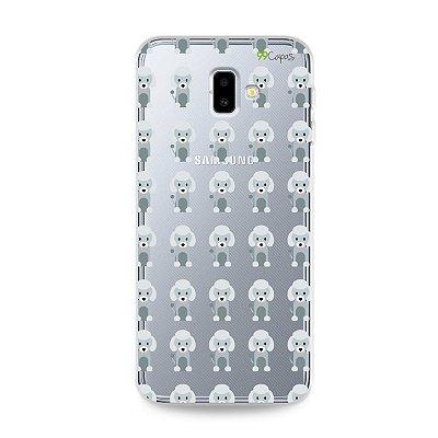Capa para Galaxy J6 Plus - Poodle