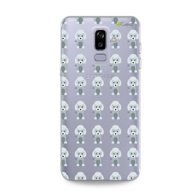 Capa para Galaxy J8 - Poodle