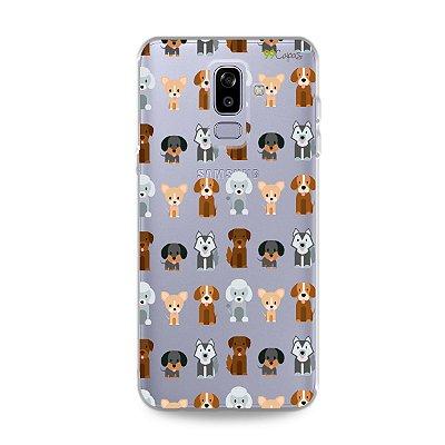 Capa para Galaxy J8 - Doguinhos