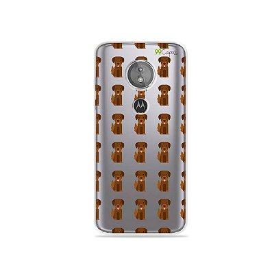Capa para Moto E5 - Golden
