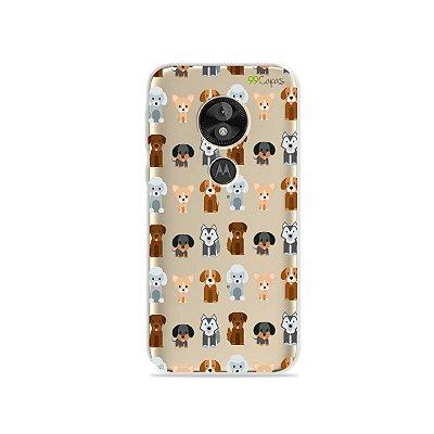 Capa para Moto E5 Play - Doguinhos