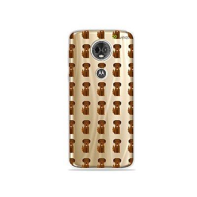 Capa para Moto E5 Plus - Golden