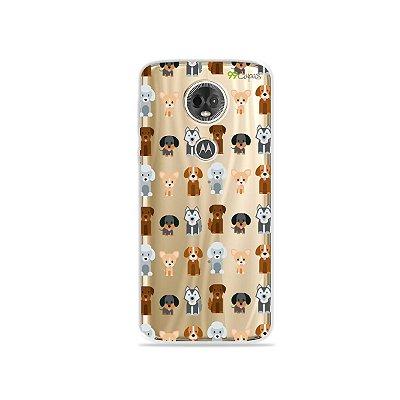 Capa para Moto E5 Plus - Doguinhos