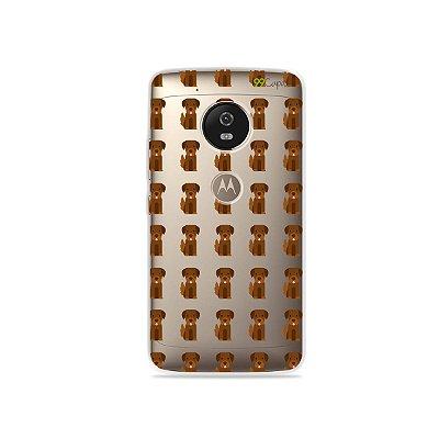 Capa para Moto G5 - Golden