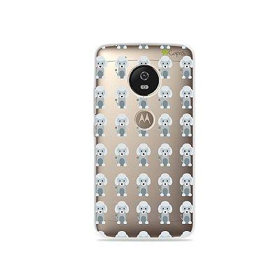 Capa para Moto G5 - Poodle