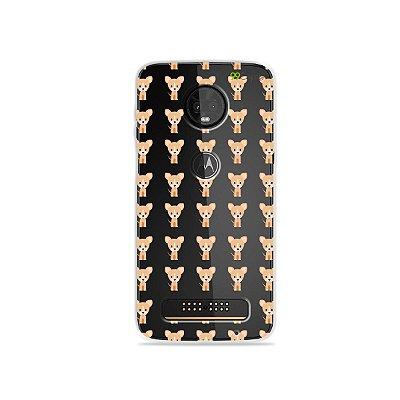 Capa para Moto Z3 Play - Chihuahua