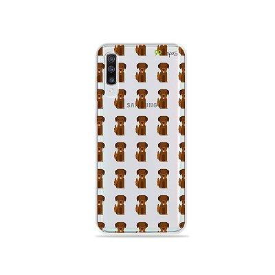 Capa para Galaxy A70 - Golden
