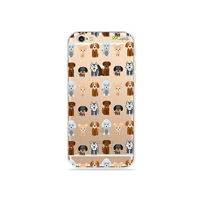 Capa para iPhone 6/6S - Doguinhos