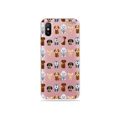 Capa para Xiaomi Mi A2 - Doguinhos
