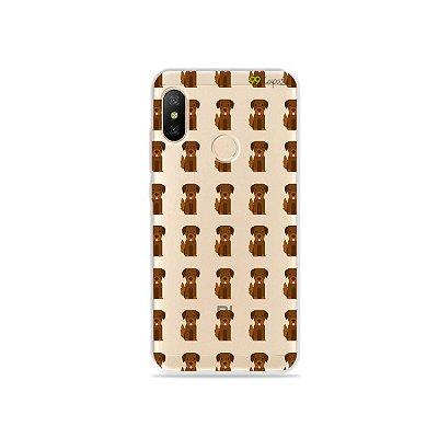 Capa para Xiaomi Mi A2 Lite - Golden
