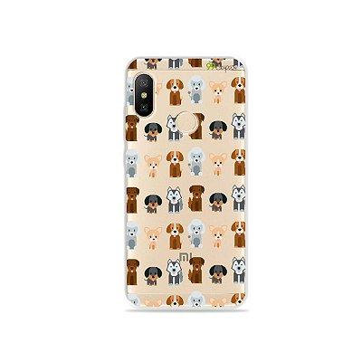 Capa para Xiaomi Mi A2 Lite - Doguinhos