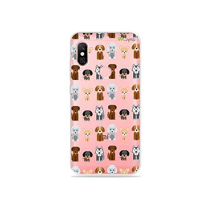 Capa para Xiaomi Redmi Note 6 Pro - Doguinhos