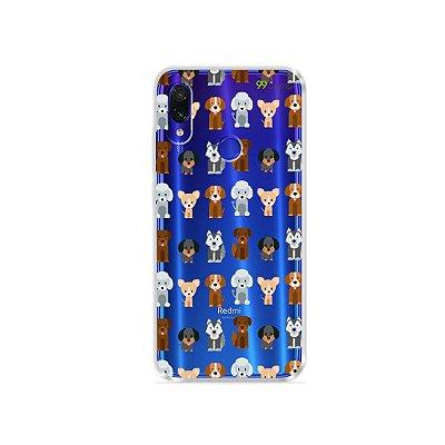 Capa para Xiaomi Redmi Note 7 - Doguinhos