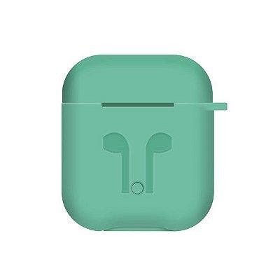 Capinha de Silicone para Airpods (Verde) - 99Capas