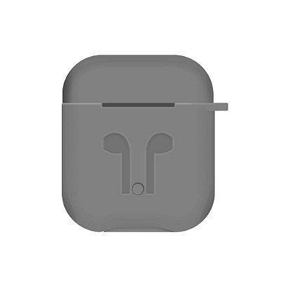 Capinha de Silicone para Airpods (Grafite) - 99Capas