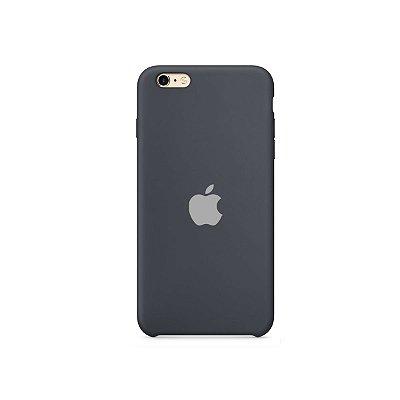 Silicone Case Preta para iPhone 6/6s - 99Capas