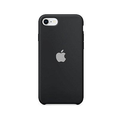 Silicone Case Preta para iPhone 8 - 99Capas