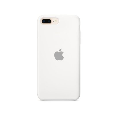 Silicone Case Branca para iPhone 7 Plus - 99Capas
