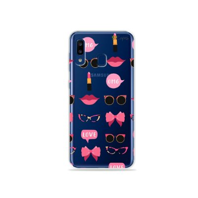 Capa (transparente) para Galaxy A20  - Girls