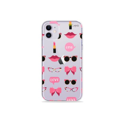 Capa (transparente) para iPhone 11 - Girls
