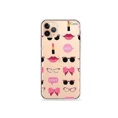 Capa (transparente)  para iPhone 11 Pro - Girls