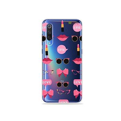Capa (transparente) para Xiaomi Mi 9 - Girls