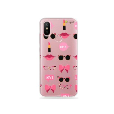 Capa (transparente) para Xiaomi Mi A2 - Girls