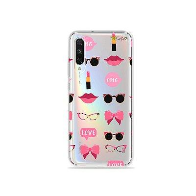 Capa (transparente) para Xiaomi CC9 - Girls