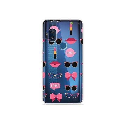 Capa (transparente) para Moto One Hyper - Girls