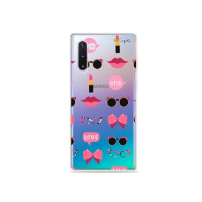 Capa (transparente) para Galaxy Note 10 - Girls