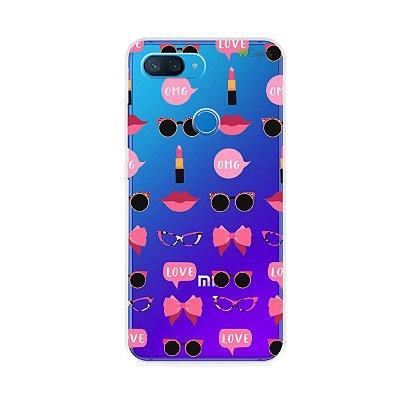 Capa (transparente) para Xiaomi Mi 8 Lite - Girls