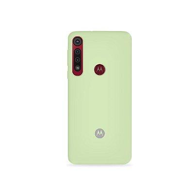 Silicone Case Menta para Moto G8 Plus - 99Capas