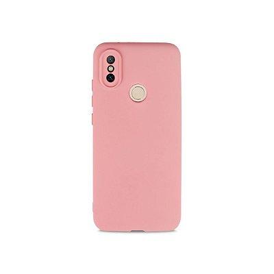 Silicone Case Rosa Claro para Xiaomi Mi A2 - 99Capas