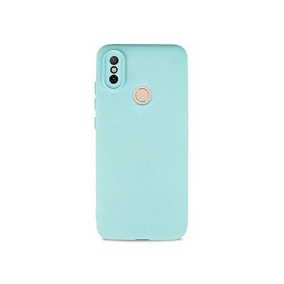 Silicone Case Azul Claro para Xiaomi Mi A2 - 99Capas