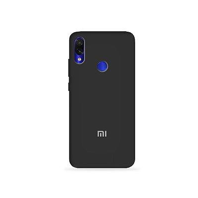 Silicone Case Preta para Xiaomi Redmi 7 - 99Capas