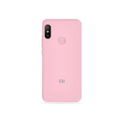 Silicone Case Rosa Claro para Xiaomi Redmi Note 6 - 99Capas