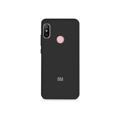 Silicone Case Preta para Xiaomi Redmi Note 6 Pro - 99Capas