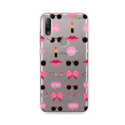 Capa (transparente) para Zenfone Max Shot - Girls