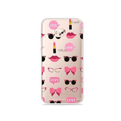 Capa (transparente) para Zenfone 4 Selfie Pro - Girls