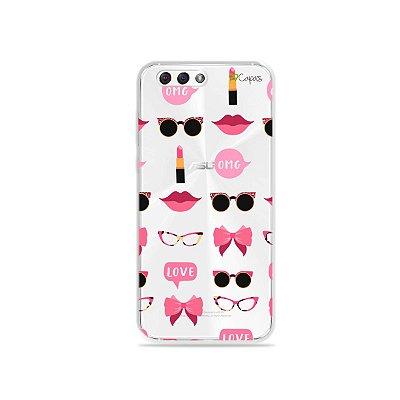 Capa (transparente) para Zenfone 4 - Girls