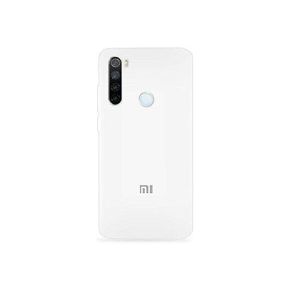 Silicone Case Branca para Xiaomi Redmi Note 8 - 99Capas