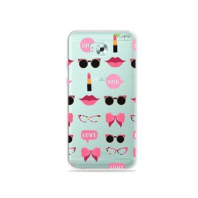 Capa (transparente) para Zenfone 4 Selfie - Girls