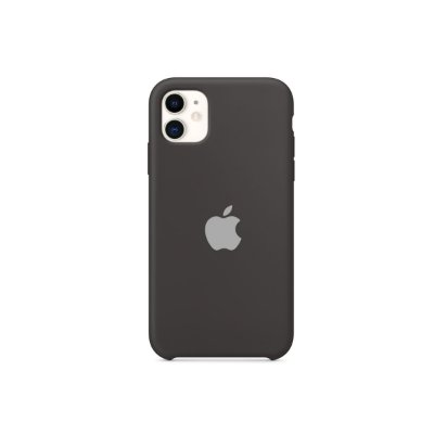 Silicone Case Preta para iPhone 11  - 99Capas