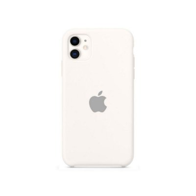 Silicone Case Branca para iPhone 11 - 99Capas