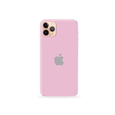 Silicone Case Rosa Claro para iPhone 11Pro Max - 99Capas