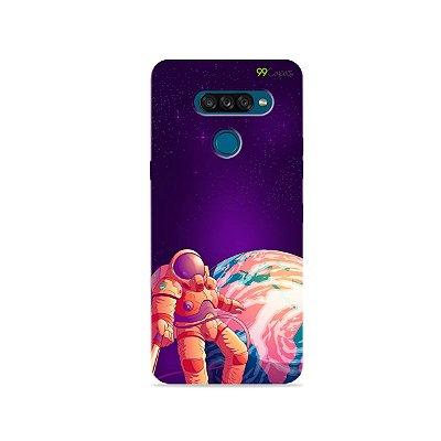 Capa para LG K50s - Selfie Galáctica