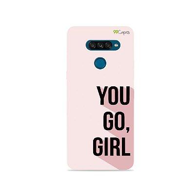 Capa para LG K50s - You Go, Girl