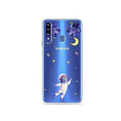 Capa para Galaxy A20s - Astronauta Sonhador